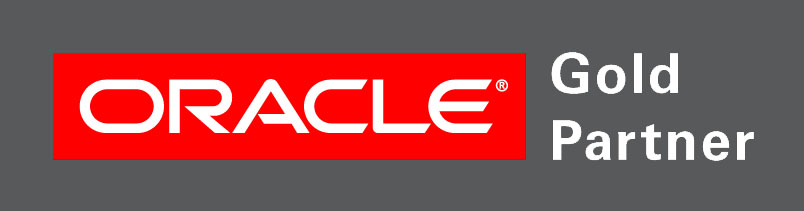 Oracle Gold Partner grey bckg